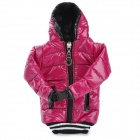 Universal Down Jacket Style Protective Cell Phone Carrying Case Pouch for Iphone 4 / 4S - Deep Pink