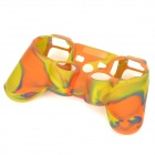 Stylish Colorful Silicone Case for PS3 Controller - Yellow + Orange