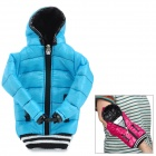 Universal Down Jacket Style Protective Cell Phone Carrying Case Pouch for Iphone 4 / 4S / 5 - Blue