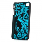 DURIAN Protective PC Plastic Case for Iphone 4 / 4S - Blue + Black