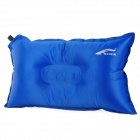 Ryder Outdoor Auto Air Inflatable Lengthened Cushion Pillow for Traveling - Blue