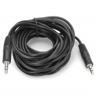 3.5mm Male to Male Extension Audio Cable - Black (5m)
