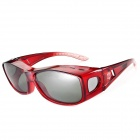 Reedoon 2222 Fashionable UV400 Protection Polarized Sunglasses / Universal Set of Myopia - Red