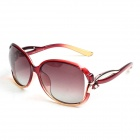 Reedoon 2229 UV400 Protection Resin Lens Polarized Sunglasses for Women - Red