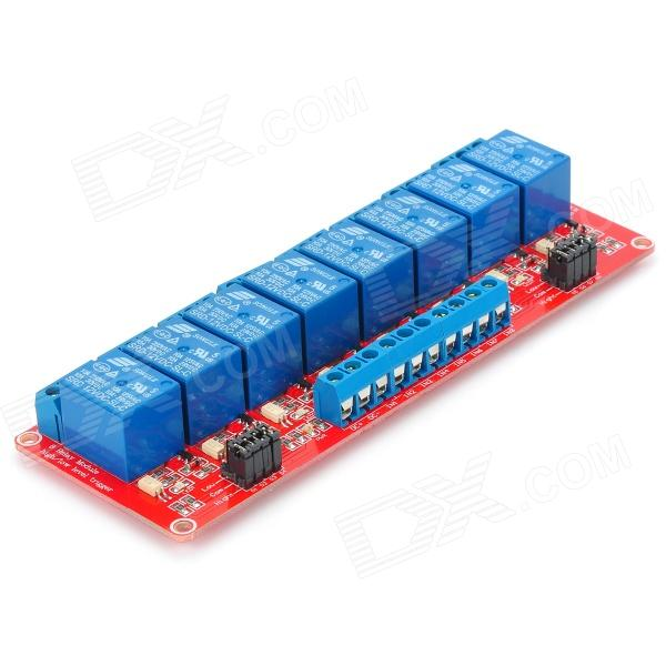Channel v relay module w optocoupler for arduino
