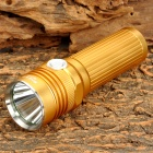 Forest Tiger SLH-H553 Cree XM-L T6 600lm 5-Mode White Flashlight - Golden (1 x 26650)