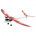 2-CH Fixed Wing Electric Radio Control Assembly R/C Airplane Model - Red + White
