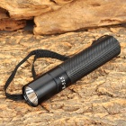 A-515 100lm Cree XP-E R2 Neutral White 3-Mode Flashlight - Black (1 x AA / 1 x 14500)