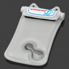 WP-i10 Waterproof Protective Plastic Case w/ Strap for Iphone 4 / 4S / 5 - White