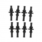 AVC Rubber Damping Nails for Chassis Fan - Black (8 PCS)