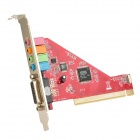 ESS 4.1-Channel PCI Sound Card - Red