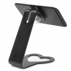 Desktop Aluminum Alloy 360 Degree Rotatable Mount Holder for Iphone 4 / 5 - Black
