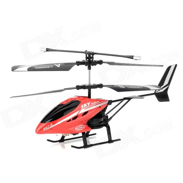 HengXiang 713 Rechargeable 2.5-CH IR Remote Control R/C Helicopter - Red + Black