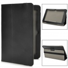 "Stylish Protective PU Leather Case for 10.1"" Tablet PCs - Black"