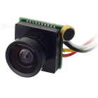 "205M718 1/4"" CMOS 600 Lines 170 Degree Wide Angle PAL Mini Surveillance Security Camera - Black"