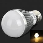 E27 3W 120lm 3300K 6-LED Warm White Light Bulb - Weiß (AC 100-240V)