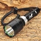 CR910 600lm 4-Mode White Diving Flashlight w/ CREE XM-L T6 - Black (1 x 18650)