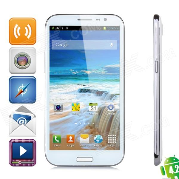 "4.2 WCDMA Bar Haipai Noble H868 Quad-Core Android Phone w / 6,0 ""HD IPS, GPS, Wi-Fi et 16 Go de ROM"