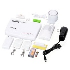 602D 900 / 1800mHz GSM Security Burglar Alarm System - White