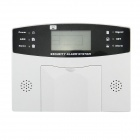 801C Home Security Telephone Burglar Intruder Alarm System - White + Black