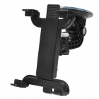360 Degree Rotating Car Mount Holder w/ Suction Cup for Ipad / GPS / PSP / Tablets + More - Black