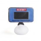 "ALEAS ADT-01F 1.2"" LCD Digital Submersible Aquarium Thermometer - Blue + Black (1 x AG13)"