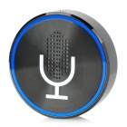 GPFILE Bluetooth V4.0 Rechargeable Microphone / MP3 Speaker w/ 3.5mm Jack - Black + White + Blue