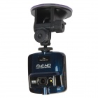 "AT820 2.4"" TFT 5.0 MP CMOS 1080P Car DVR Camcorder w/ 1-LED / G-Sensor - Black + Blue"