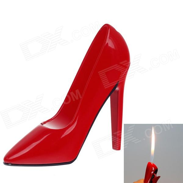 Fashion High-heeled Shoes Style Lighter - Red