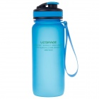 UZSPACE High-quality Leak-proof Frosted Bottle w/ Elastic Cover - Blue (650ml)