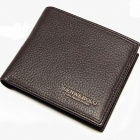 LENWEBOLO 1006A Oxhide Men's Wallet - Brown
