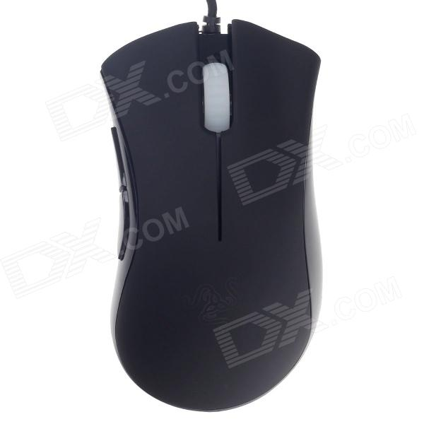 RAZER DeathAdder RZ01-0015 USB Wired 3500dpi Precision Optical Games Mouse - Black + White