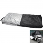 FF090 Folding Waterproof Polyester Taffeta Cover for Motorcycle - Silver + Black (XXL)