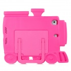 35043 Cute Train Style EVA Back Case for Ipad MINI - Deep Pink