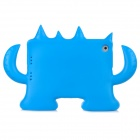 35049 Cute Demon Style EVA Shakeproof Back Cover for Ipad MINI - Blue