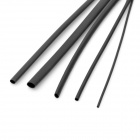 1M Black Heat Shrink Tubing - Five Size Pack (0.8/1.5/2.5/3.5/4.5mm)