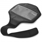 Universal Protective PVC + Neoprene Armband for Sony Xperia ZR M36h / C5502 / HTC One Mini - Black