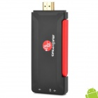 ChuangZhuo T518 Quad-Core Android 4.2.2 Mini PC w / 2GB RAM / 8GB ROM / Antenne - Schwarz + Rot