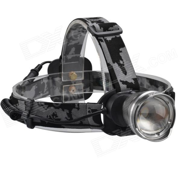 SingFire SF-611A 413lm 3-Mode Cool White Fisheye Zooming Headlight w/ CREE XM-L T6 - (1 x 18650) singfire sf 611c 600lm zoomable big lamp rechargeable headlight w cree xm l t6 charger battery