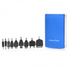Yadinuo DS-13800 13800mAh Dual USB Mobile Power Bank  - Blue + White