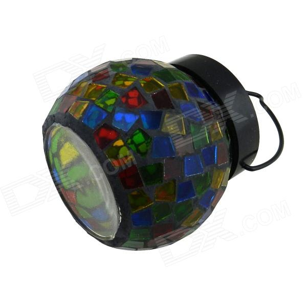 SL004 Solar Power 0.4W 6000K 25LM 4-LED RGB Color украшение сада Light - Разноцветные