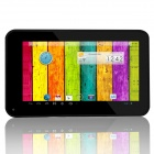 "RuiQ A20 7.0 ""kapazitive Dual-Core Android 4.2.2 Tablet PC w / 512MB RAM, 4GB ROM, HDMI - Schwarz"