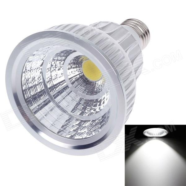 ZIYU ZY-0807-012 E27 12W 1080lm 6500K COB LED White Light Lamp Bulb - Silver + White (85~265V) цена
