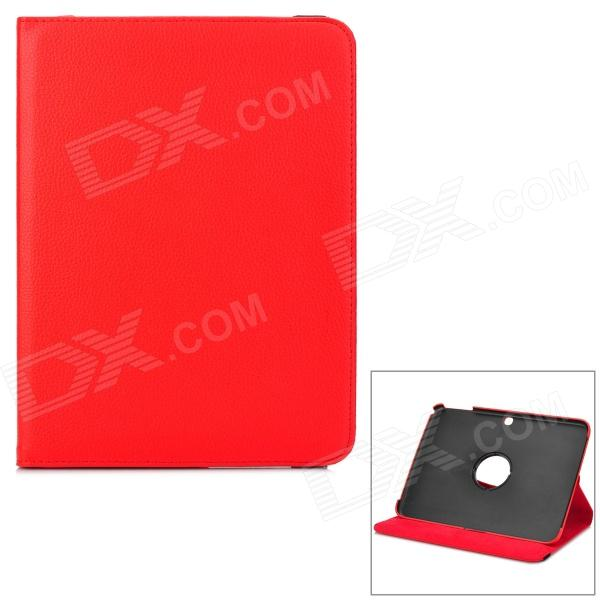 Stylish Sheepskin Case w/ 360 Degree Rotating Back Case for Samsung Galaxy Tab 3 / P5200 / P5210 skinbox p5200 skinbox rotating 360 для samsung p5200