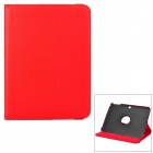 Stylish Sheepskin Case w/ 360 Degree Rotating Back Case for Samsung Galaxy Tab 3 / P5200 / P5210
