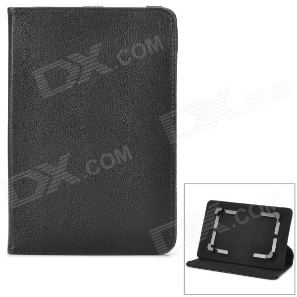 Universal PU Leather Case w/ 360 Degree Rotating Back Case for 7