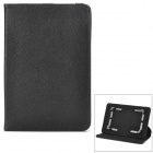 "Universal PU Leather Case w/ 360 Degree Rotating Back Case for 7"" Tablet PC - Black"