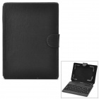 "Universal Ultra Thin Water Resistant 80-key Keyboard Case w/ Holder for 7"" / 8"" Tablet PC - Black"