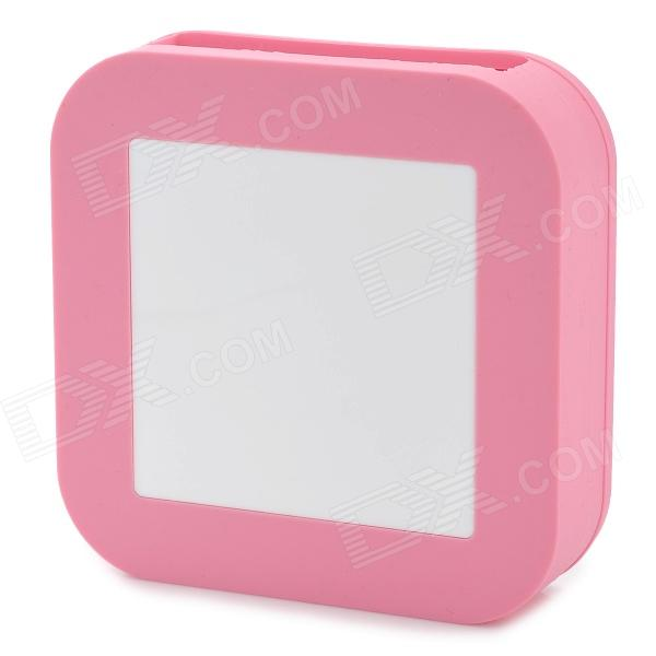 все цены на Protective Silicone Back Case for Apple TV / AirPort Express - Pink + White онлайн