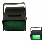5W 530nm 24-LED Green Light Flash Party Disco Mini Strobe Stage Light - Black (US Plug)